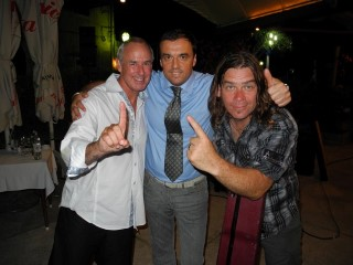 Ron Maclean (sportscasters) & Alan Doyle (musician)